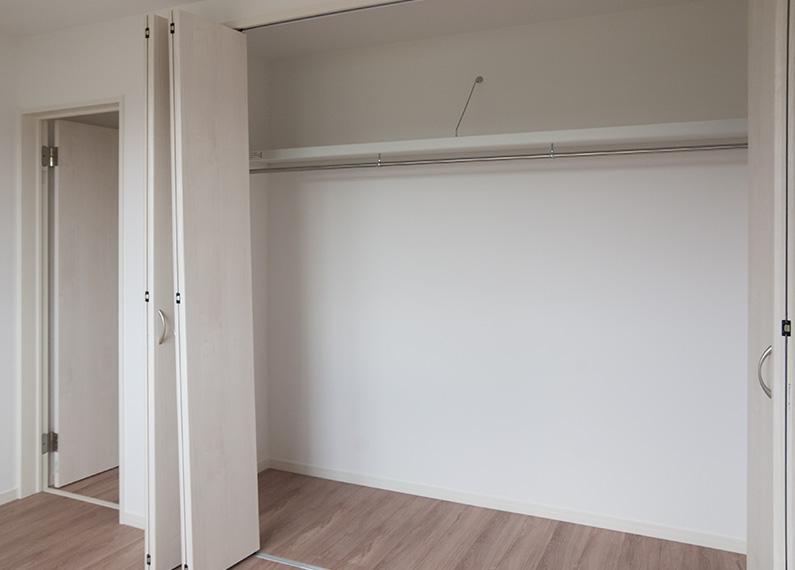 新築賃貸アパート建設施工工事 2階 寝室1 大容量クローゼット