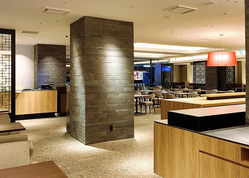 ホテル内中華レストラン フロア