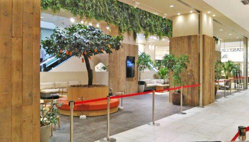 大分市大型商業施設休憩スペース工事